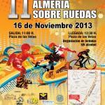 II Marcha Almería sobre ruedas - Día mundial sin alcohol - copia