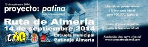 Ruta Solidaria Tres60 Almeria