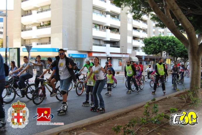 Marcha Sobre Ruedas Club Tres60 Almeria (15)