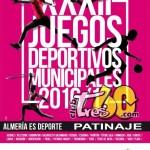 Juegos Deportivos Municipales Patinaje Almeria 2016/17