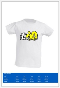 Camiseta Infantil 2017
