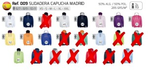 Sudadera Capucha Madrid - copia