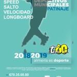 Juegos Deportivos Municipales Patinaje 2019