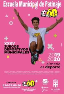 Cartel JJDDMM2020 Almeria